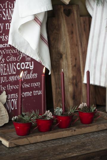 Vintage Holztablett, klein, länglich, Unika