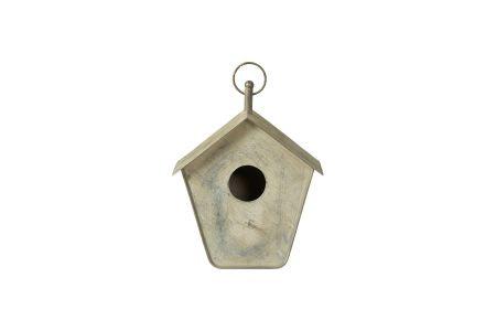 Vogelhaus aus Zink