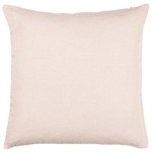 Kissenbezug rosa Leinen