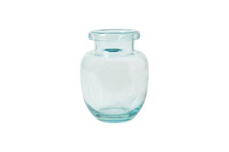 Vase aqua blau