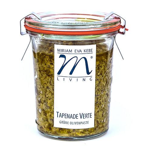 Tapenade Verde - grüne Olivenpaste - Miriam Kebe
