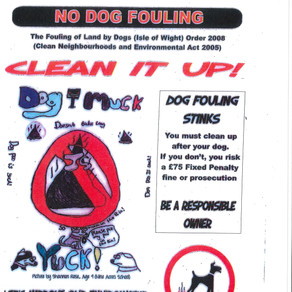 Say NO to Dog Fouling in Brading