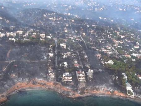 Το μέγεθος της καταστροφής σε βίντεο- Εναέρια πλάνα από τις πληγείσες περιοχές