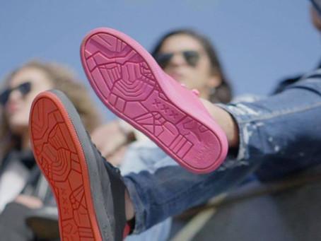 Το πρώτο παπούτσι με σόλα από ανακυκλωμένες μασημένες τσίχλες