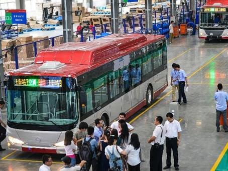 Κίνα: Ο στόλος ηλεκτρικών λεωφορείων κάνει διαφορά στην παγκόσμια ζήτηση πετρελαίου