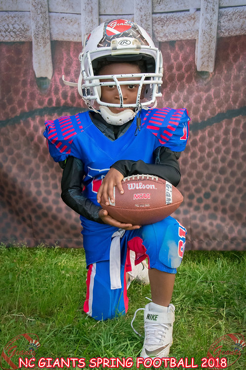 NC Giants Spring Football Pictures
