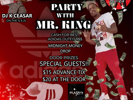 THE MY ADIDAS PARTY WITH MR. KING: MORE THAN JUST A CONCERT! TAP IN!