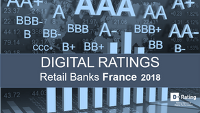 2018 digital performance rating of Retail Banking France