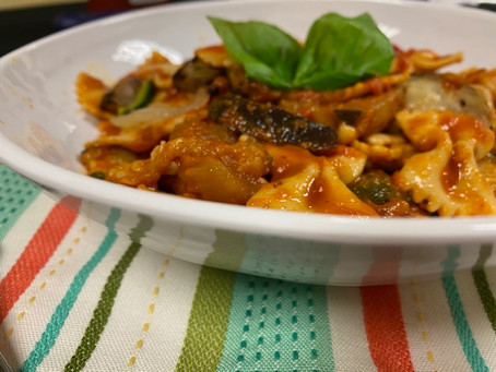 10 Minutes or Less: Pasta and Veg
