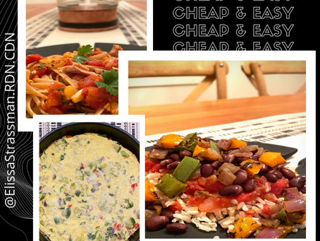 3 Meals that are Cheap, Easy, and Come Together in a Snap