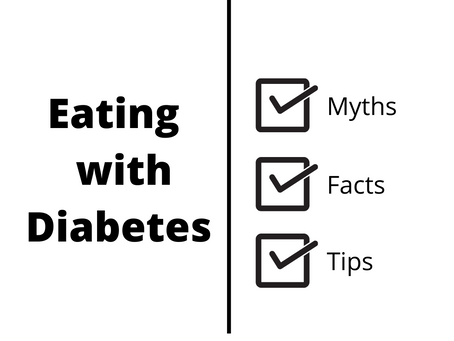 Eating with Diabetes: Myths, Facts, and a Few Tips
