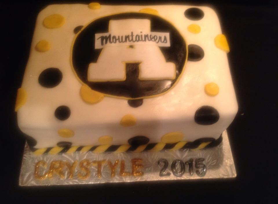 Appalachian State Graduation Cake.jpg