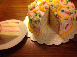 Birthday Cake w/ Butter Creme Icing