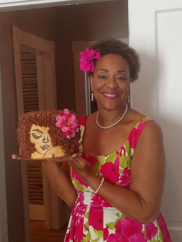 Lady Cake 1