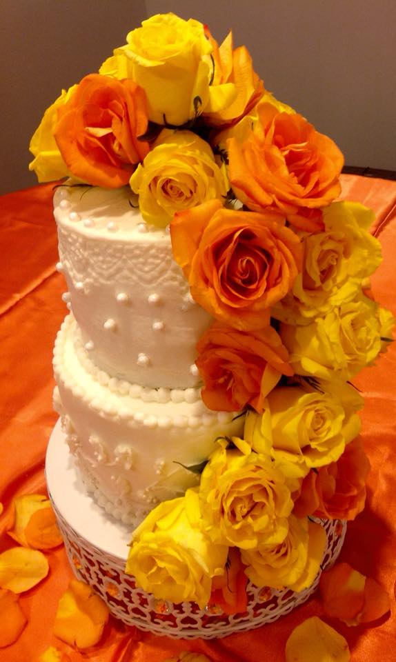 Wedding Cake with Butter Creme.jpg