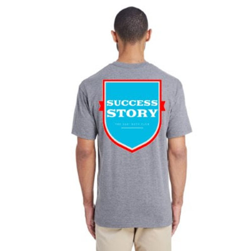 The Ole' Boys Club Success Story Sport Grey Pocket Tee (Hornet Edition)