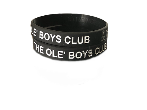 The Ole'Boys Club Member Wrist Bands