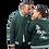 Thumbnail: The Master Class Green Lightweight Varsity Jacket