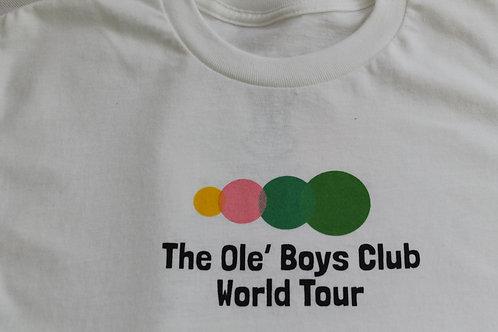 The Ole Boys Club World Tour White Tee