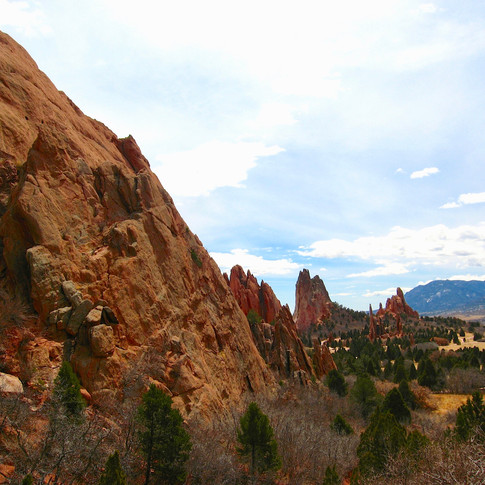 Garden of the Gods, Colorado, America