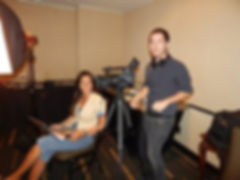 Julia Rose & Brett Novak filming