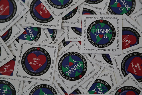 Paper Tokens-of-Gratitude (Qty 25) -more available