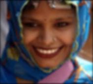 smile of gratitude