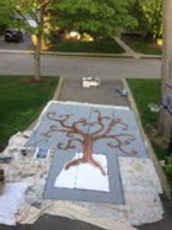 making man kind gratitude mural