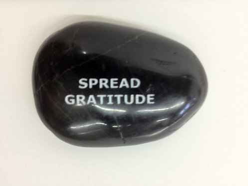 Spread Gratitude Rock