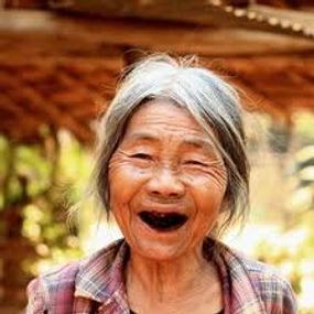 grateful smile