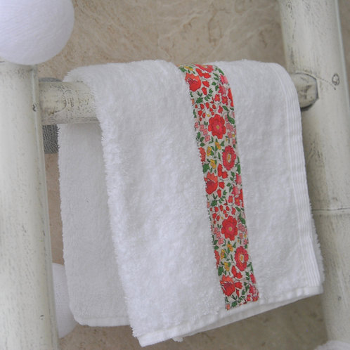 Towels with Liberty Trim