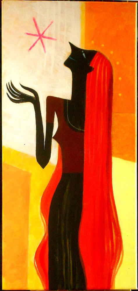 La fille au cheveux rouge
