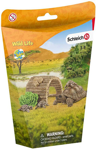 Schleich Tortoise Home