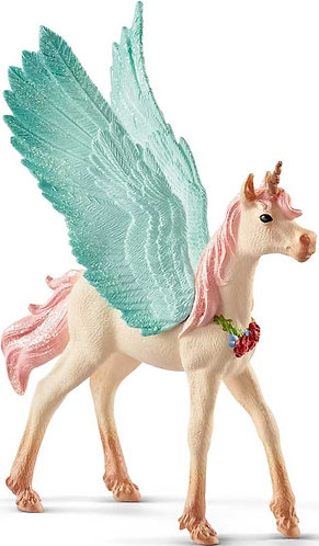 Schleich Decorated Unicorn Pegasus Foal