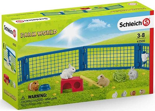 Schleich Rabbit and Guinea Pig Hutch