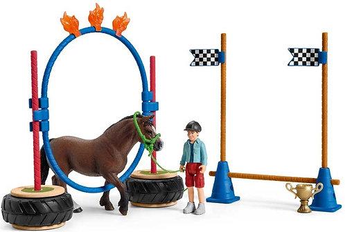 Schleich Pony Agility Race