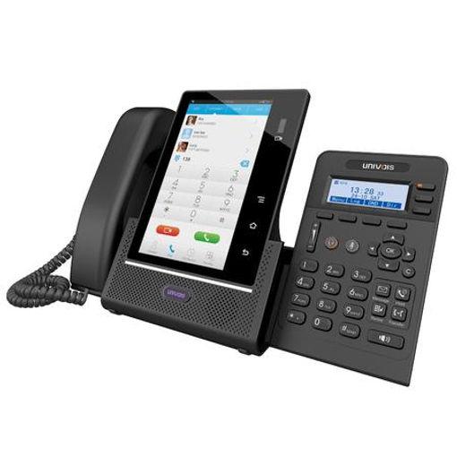 IP телефон с 2-мя экранами с камерой для видеозвонков
