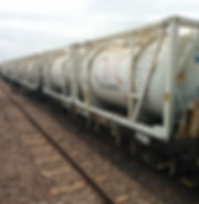 ARC ISO Tank Rail Wagons