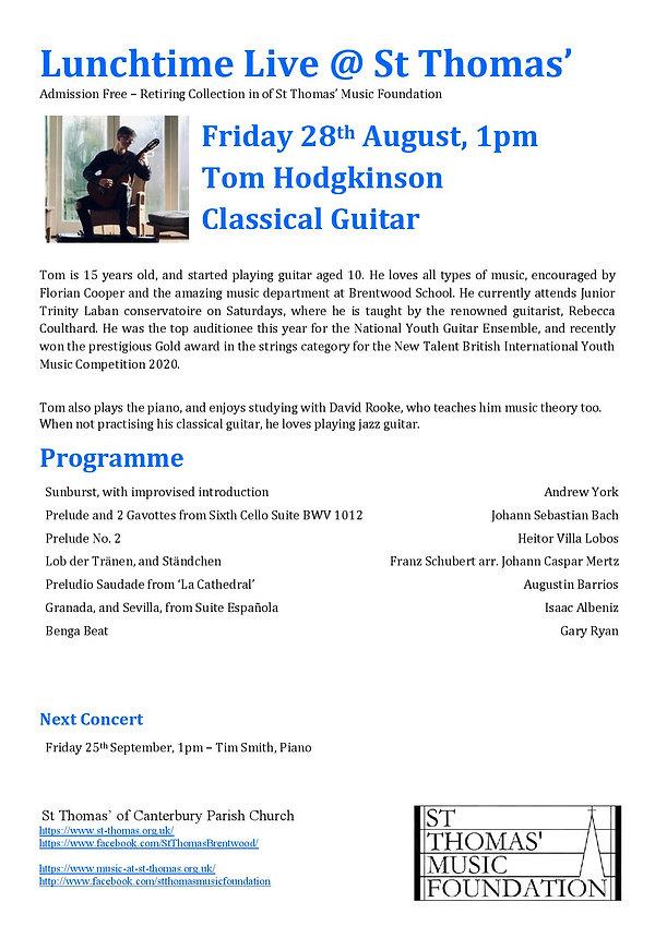 Tom Hodgkinson - Friday 28th August.jpg