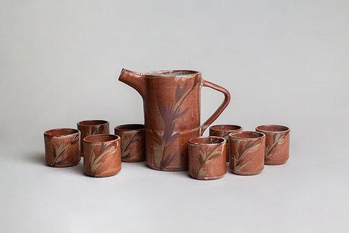 Set de Pisco - Jarro c/8 Vasos