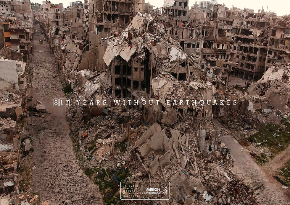 Natural Disaster - Earthquakes