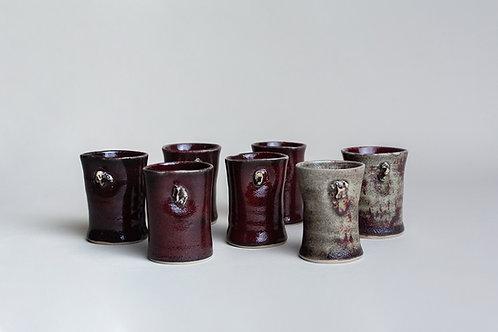 Vasos Pisqueros Rojos