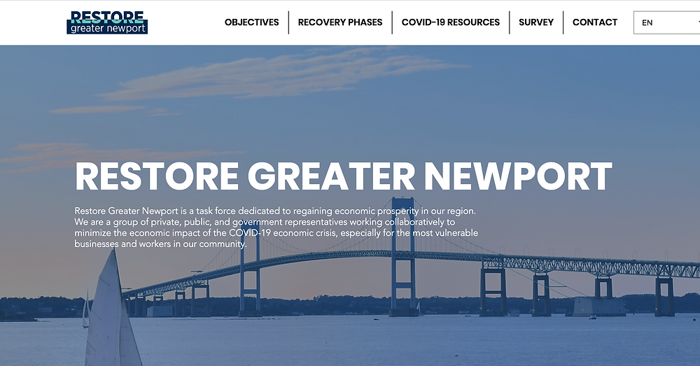 Restore Greater Newport Website