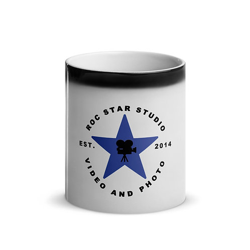 Roc Star Studio Glossy Magic Mug