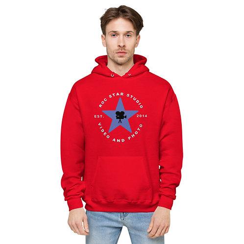 Roc Star Studio Unisex fleece hoodie