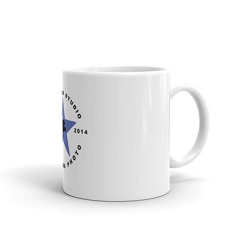 Roc Star Studio White glossy mug
