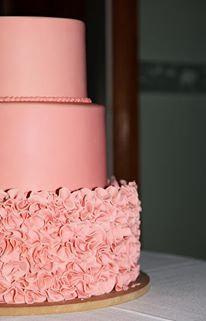 Blush Pink wedding cake 3 tier