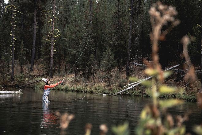 Anna Amejko Peterson Fly Fishing