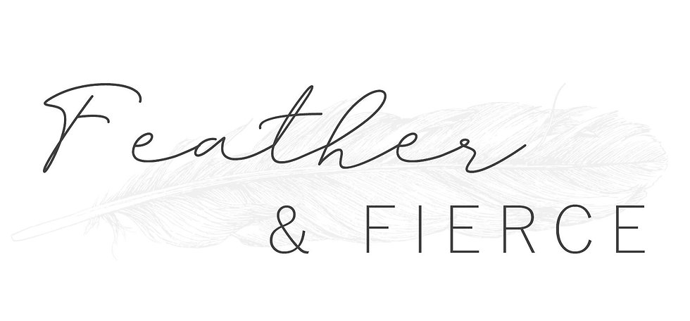 Feather & Fierce Logo - Digital Version.