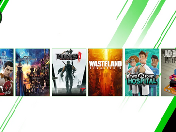 XBOX Game Pass console additions Feb/Mar 2020